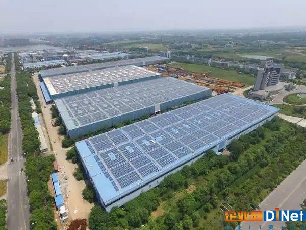 南京鑫日8.544mw屋顶分布式光伏电站成功并网