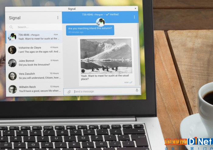 firefox 或 safari 用戶不再需要安裝 chrome 就能使用桌面版 signal圖片