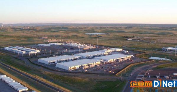 微软公司在怀俄明州夏延的数据中心