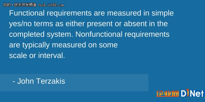 你知道功能测试和非功能测试有什么区别么?