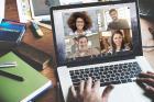 越来越多的企业采用视频会议平台取代电话会议